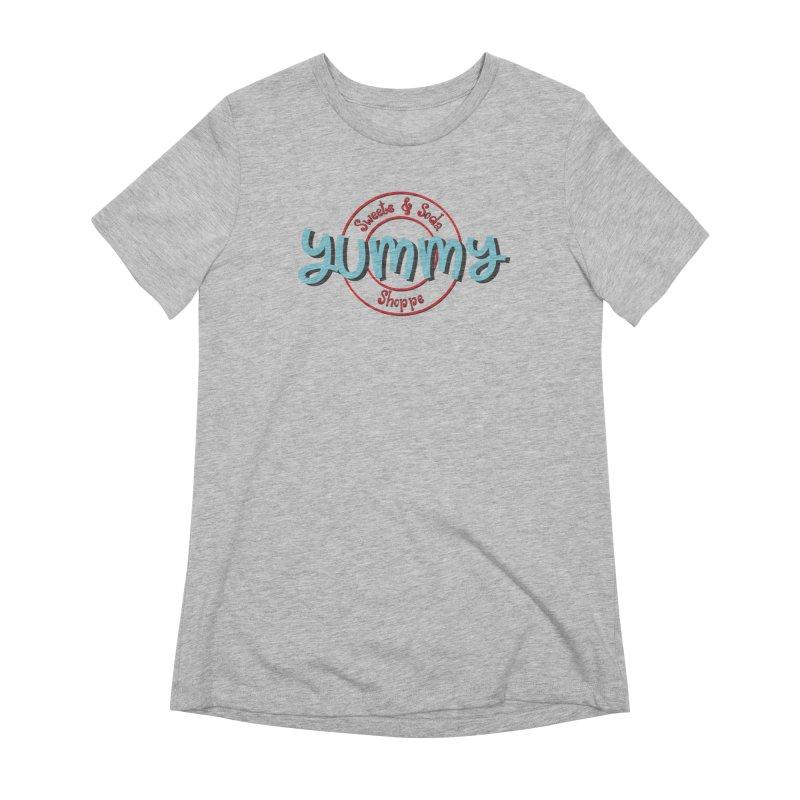 Yummy Sweets and Soda Shoppe Women's T-Shirt by Yummy Sweets and Soda Shoppe Merch!