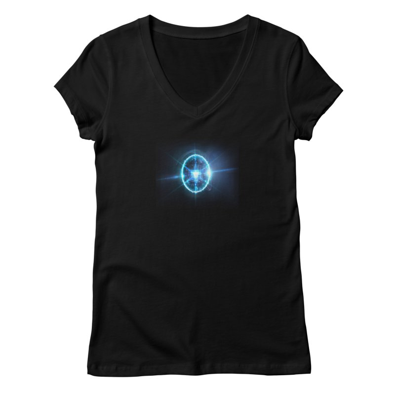 Fragmental Story Women's V-Neck by Zaxiade's Shop