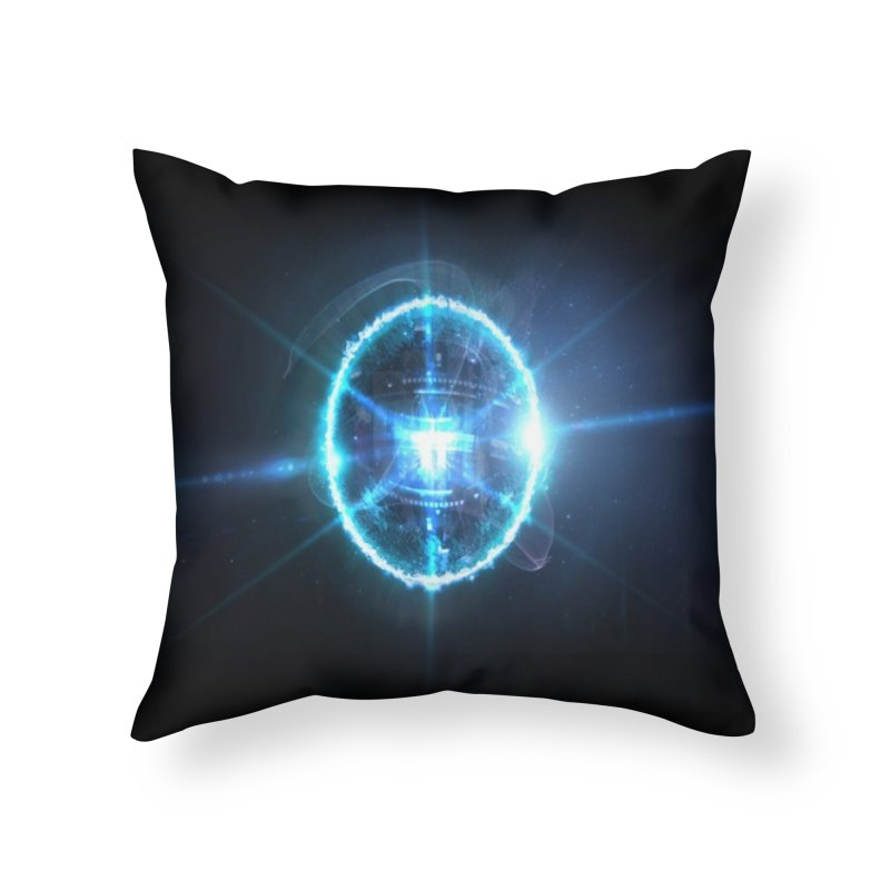Fragmental Story Home Throw Pillow by Zaxiade's Shop