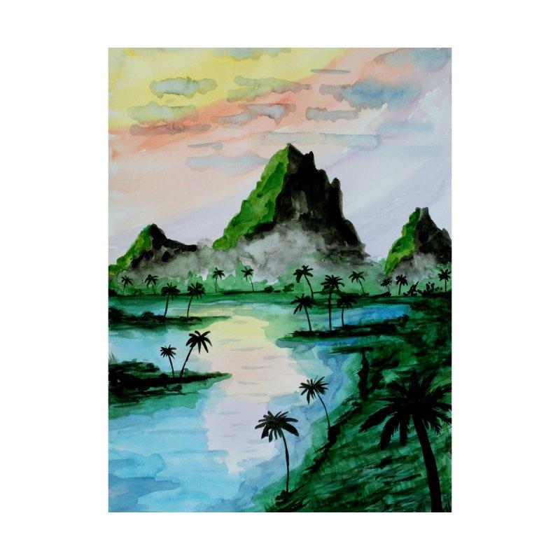 Sumatra Mountains by ZeichenbloQ's Artist Shop