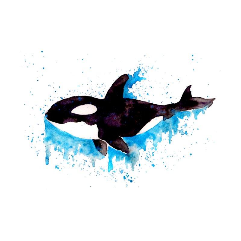 Watercolor Killer Whale by ZeichenbloQ's Artist Shop