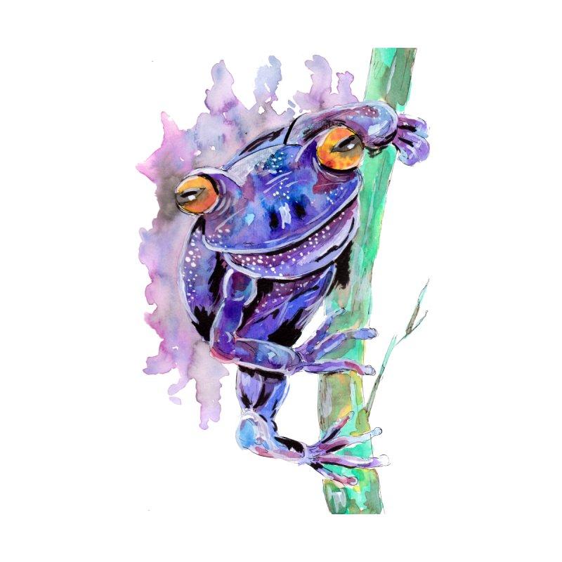 Purple Frog by ZeichenbloQ's Artist Shop