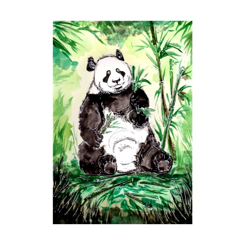 Hungry Big Panda Bear by ZeichenbloQ's Artist Shop