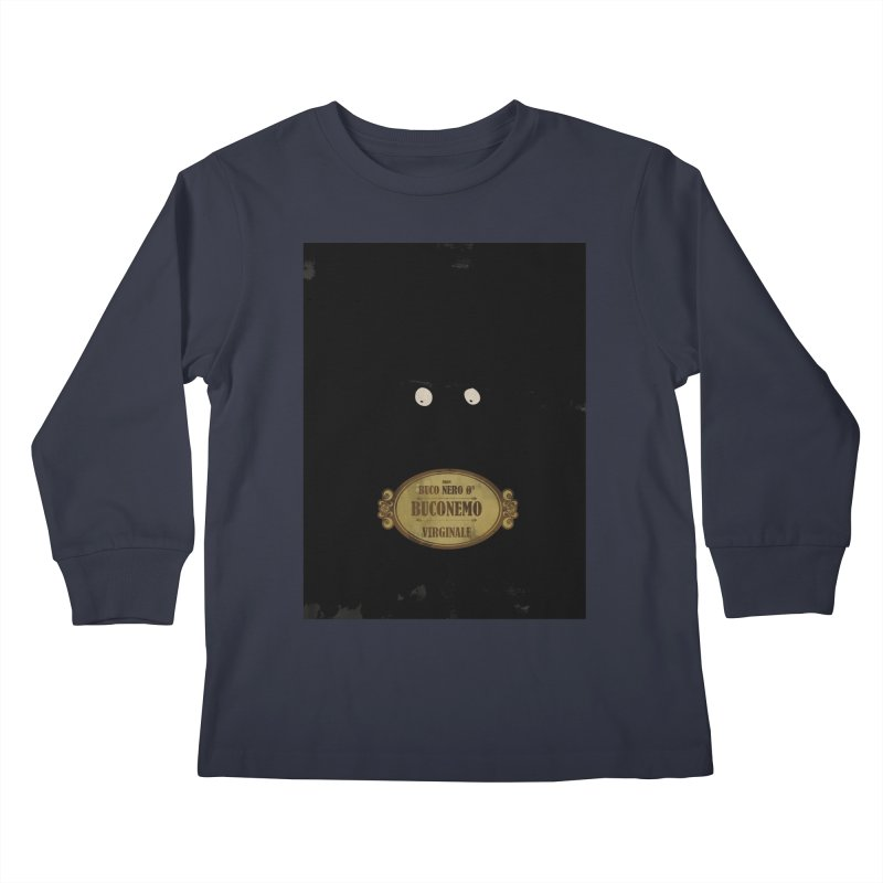 BUCONEMO_Virginale Kids Longsleeve T-Shirt by ZEROSTILE'S ARTIST SHOP