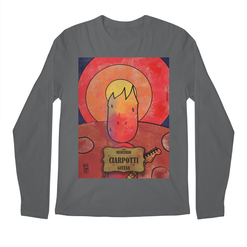 CIARPOTTI_GUITAR Men's Longsleeve T-Shirt by ZEROSTILE'S ARTIST SHOP