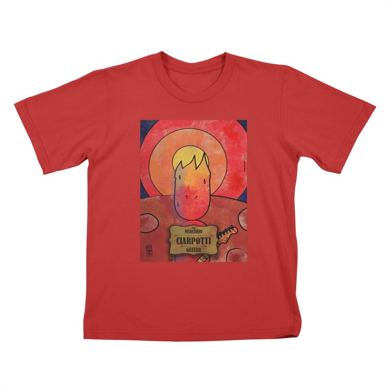 CIARPOTTI_GUITAR Kids T-Shirt by ZEROSTILE'S ARTIST SHOP