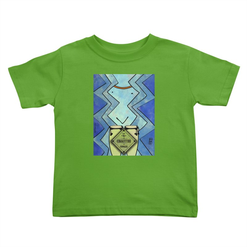 CIKKITTHI_Congas in Kids Toddler T-Shirt Apple by ZEROSTILE'S ARTIST SHOP