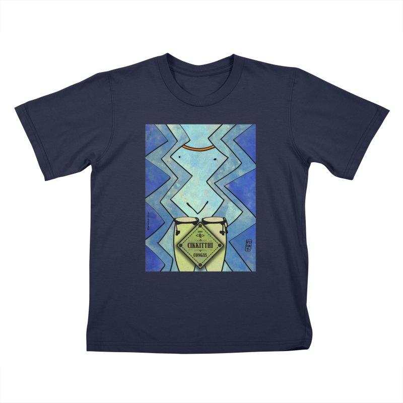 CIKKITTHI_Congas Kids T-Shirt by ZEROSTILE'S ARTIST SHOP