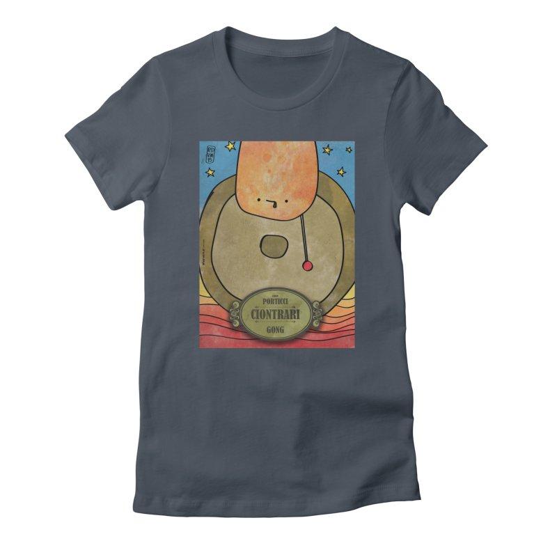 CIONTRARI_Gong Women's T-Shirt by ZEROSTILE'S ARTIST SHOP