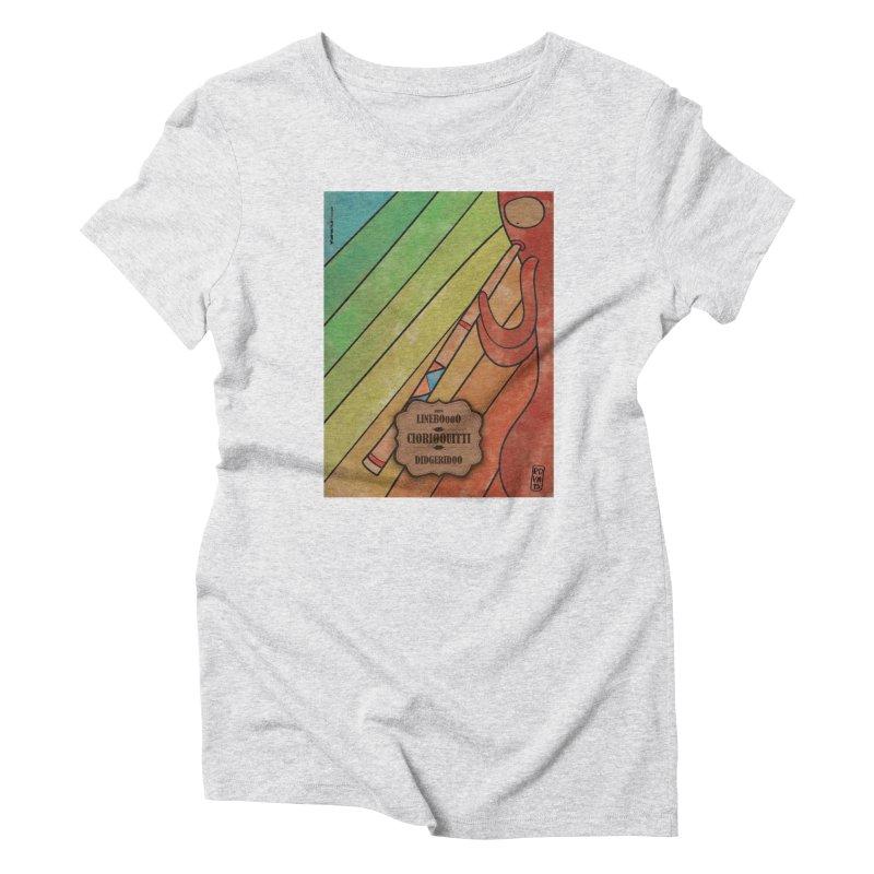 CIORI00UITTI_Didgeridoo Women's T-Shirt by ZEROSTILE'S ARTIST SHOP
