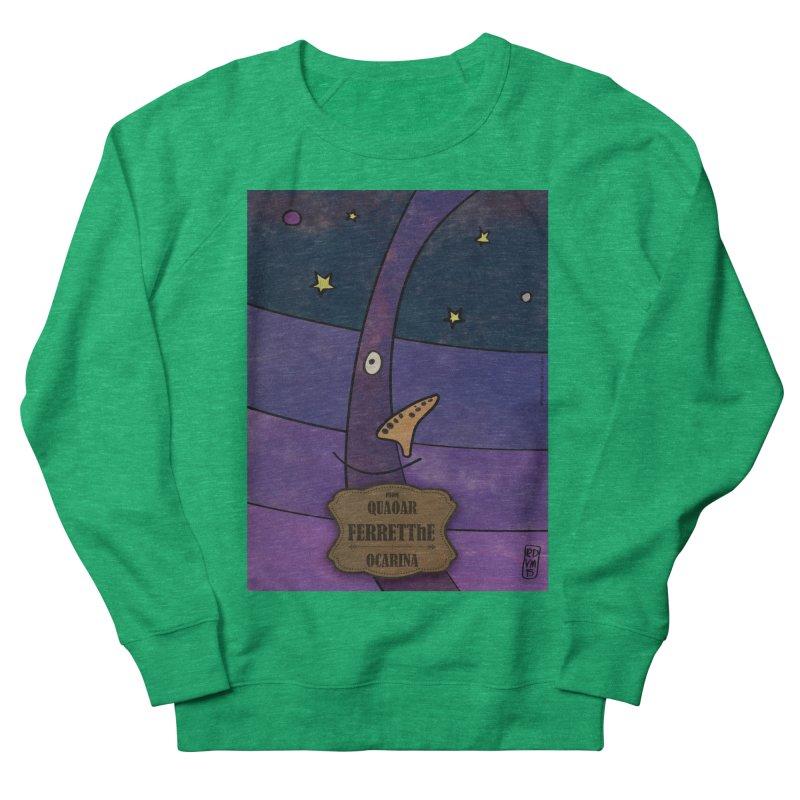 FERRETThE_Ocarina Women's Sweatshirt by ZEROSTILE'S ARTIST SHOP