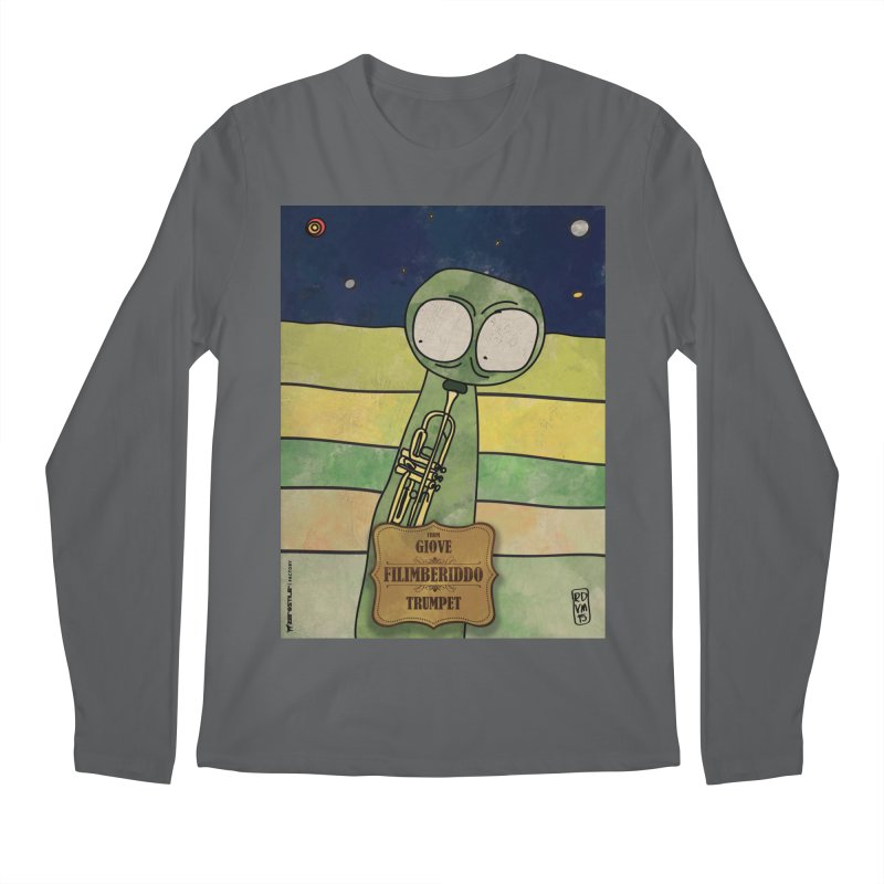 FILIMBERIDDO_Trumpet Men's Longsleeve T-Shirt by ZEROSTILE'S ARTIST SHOP