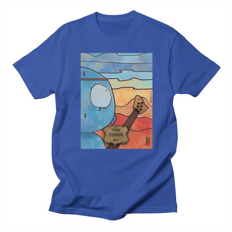 LAURINO_Bass in Men's Regular T-Shirt Royal Blue by ZEROSTILE'S ARTIST SHOP