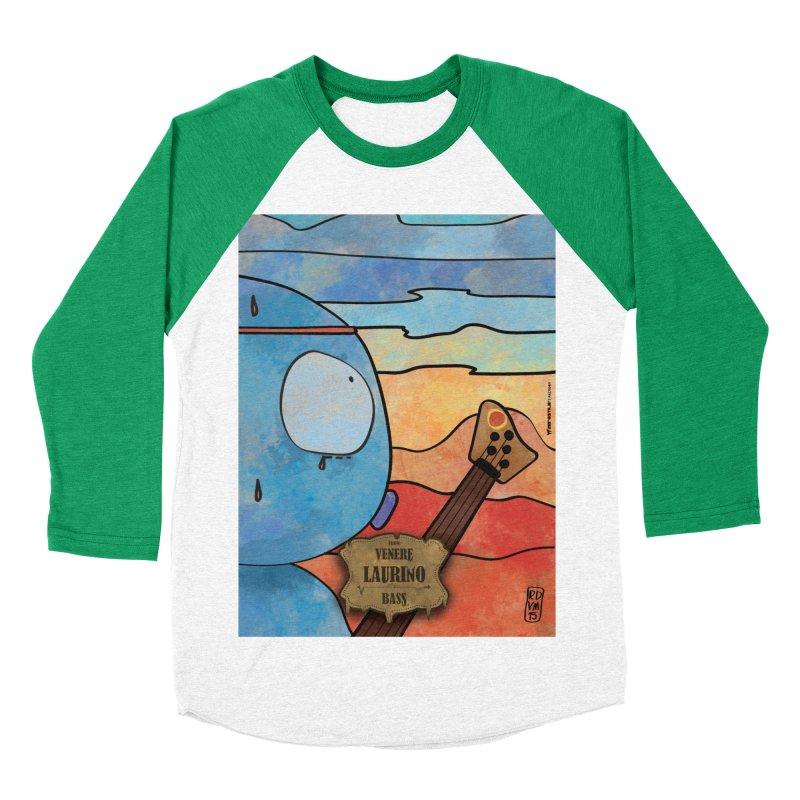 LAURINO_Bass Women's Baseball Triblend Longsleeve T-Shirt by ZEROSTILE'S ARTIST SHOP
