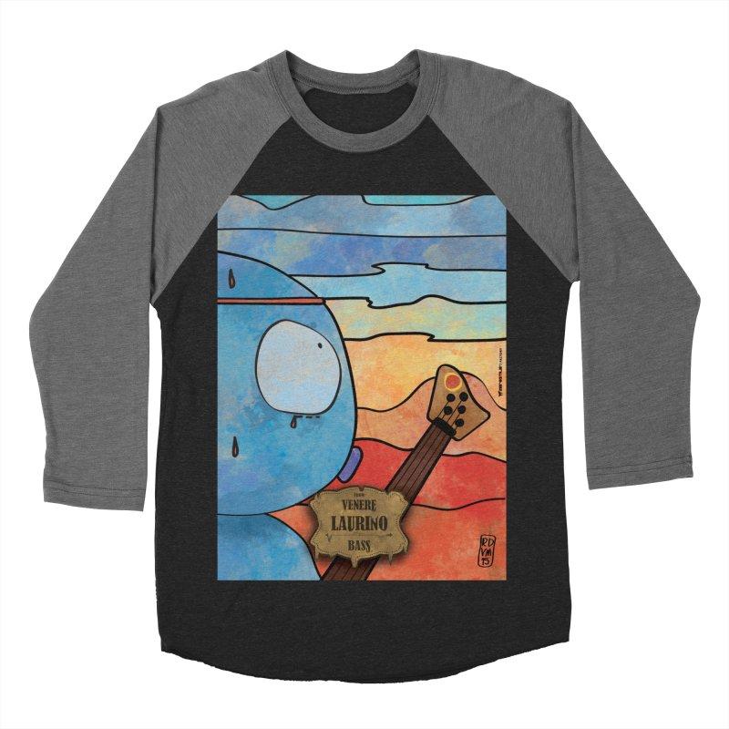 LAURINO_Bass Men's Baseball Triblend Longsleeve T-Shirt by ZEROSTILE'S ARTIST SHOP