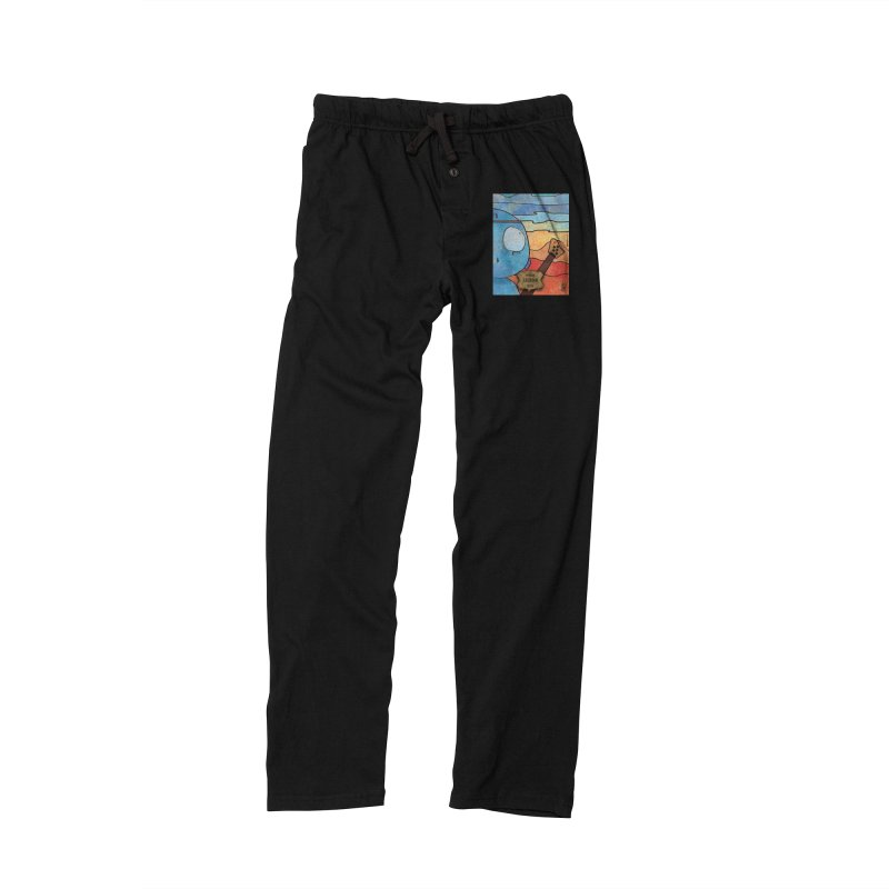 LAURINO_Bass Men's Lounge Pants by ZEROSTILE'S ARTIST SHOP