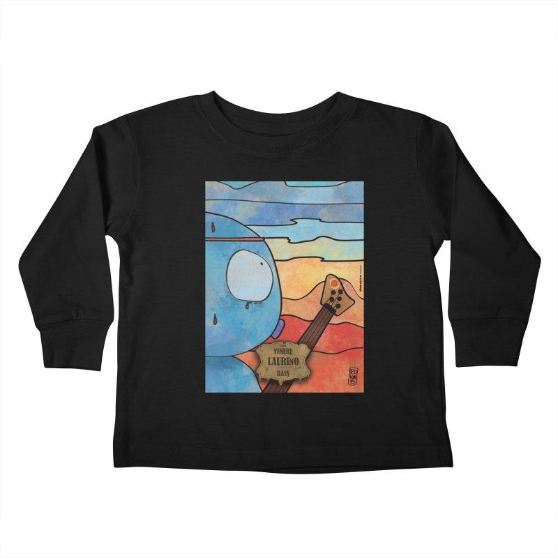 LAURINO_Bass Kids Toddler Longsleeve T-Shirt by ZEROSTILE'S ARTIST SHOP