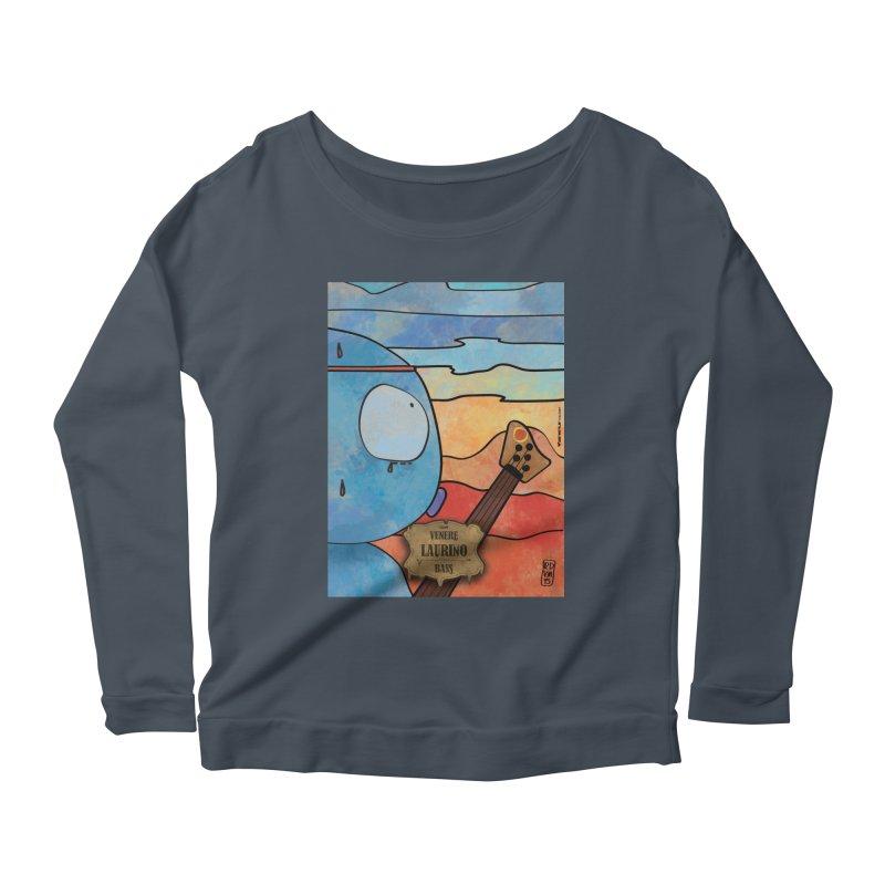 LAURINO_Bass Women's Scoop Neck Longsleeve T-Shirt by ZEROSTILE'S ARTIST SHOP