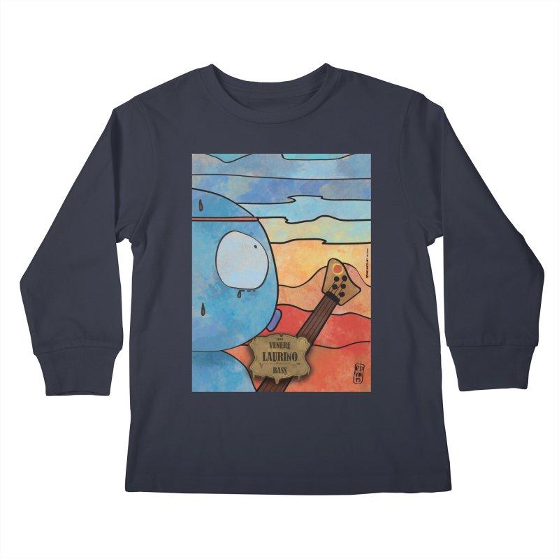 LAURINO_Bass Kids Longsleeve T-Shirt by ZEROSTILE'S ARTIST SHOP
