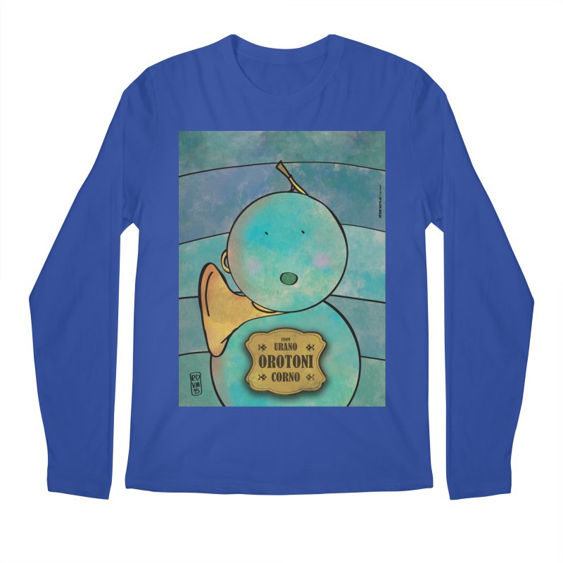 OROTONI_Corno Men's Longsleeve T-Shirt by ZEROSTILE'S ARTIST SHOP