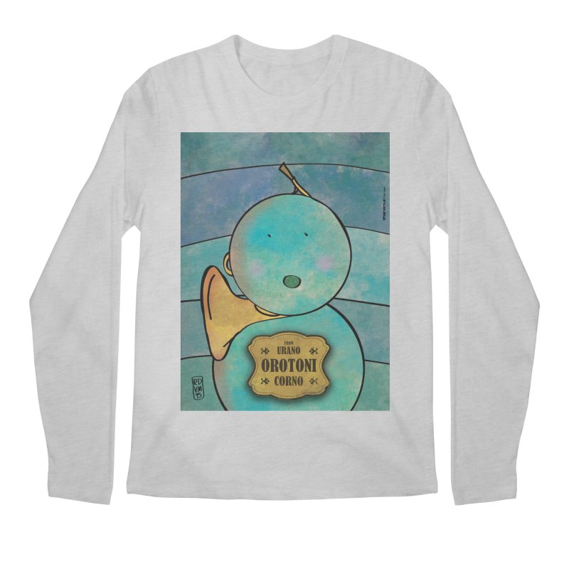 OROTONI_Corno Men's Regular Longsleeve T-Shirt by ZEROSTILE'S ARTIST SHOP