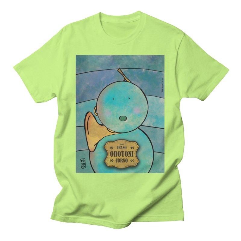 OROTONI_Corno Men's T-Shirt by ZEROSTILE'S ARTIST SHOP