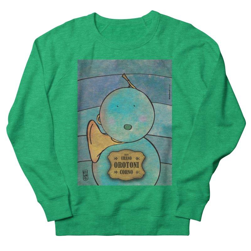 OROTONI_Corno Women's Sweatshirt by ZEROSTILE'S ARTIST SHOP