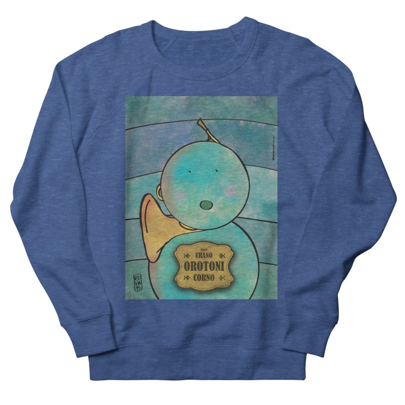 OROTONI_Corno Men's Sweatshirt by ZEROSTILE'S ARTIST SHOP