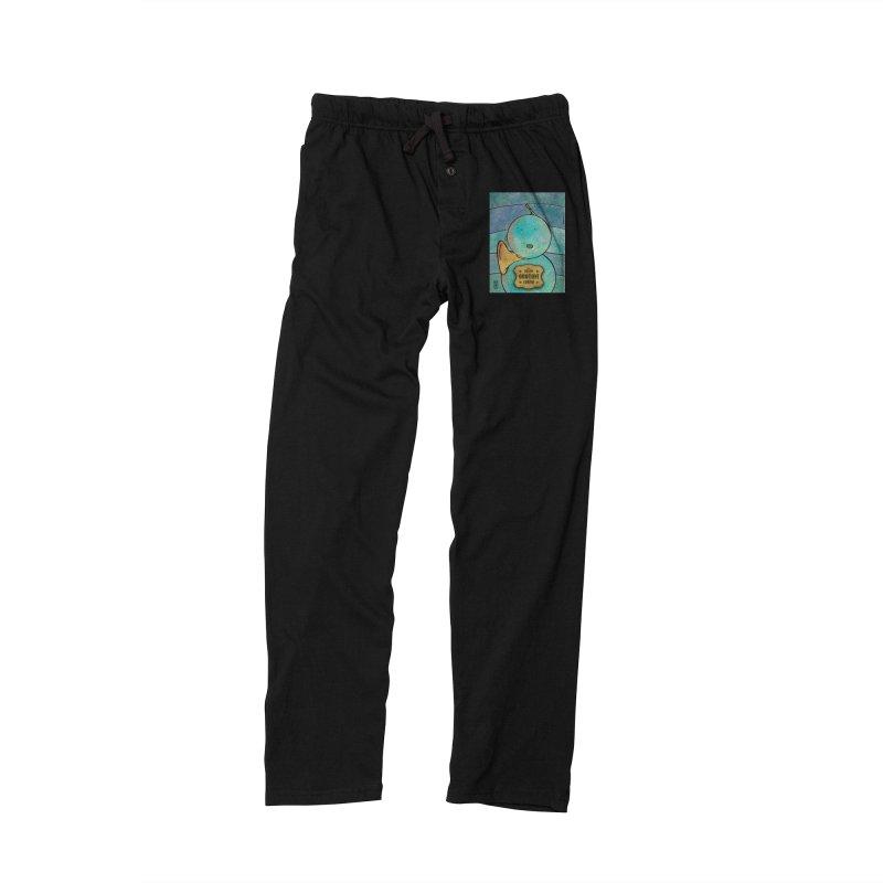 OROTONI_Corno Men's Lounge Pants by ZEROSTILE'S ARTIST SHOP
