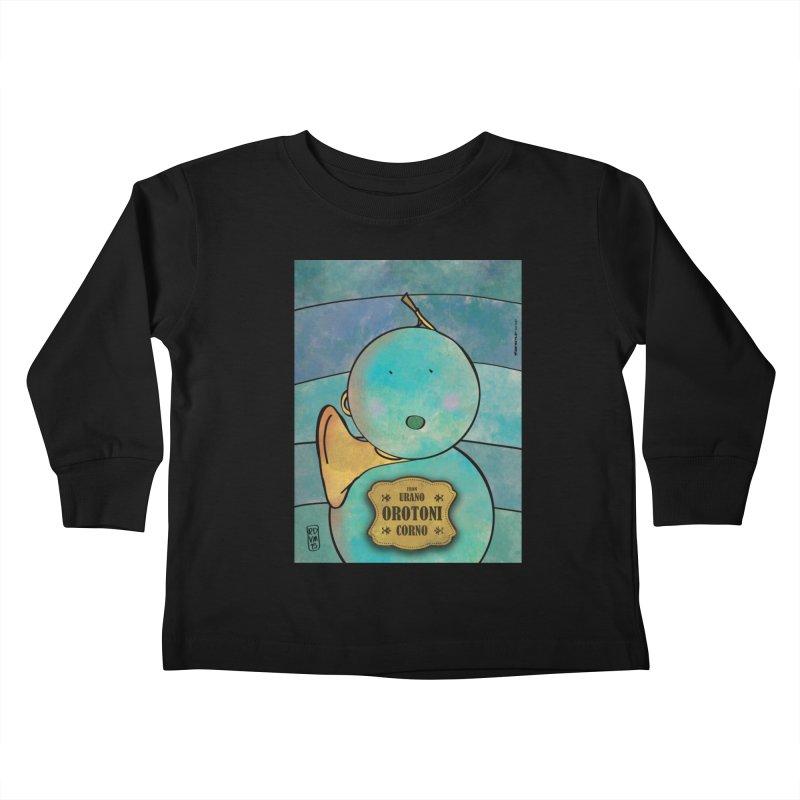 OROTONI_Corno Kids Toddler Longsleeve T-Shirt by ZEROSTILE'S ARTIST SHOP