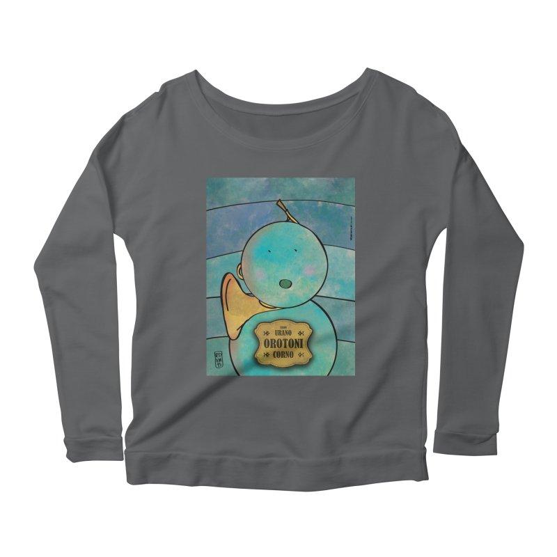 OROTONI_Corno Women's Longsleeve T-Shirt by ZEROSTILE'S ARTIST SHOP