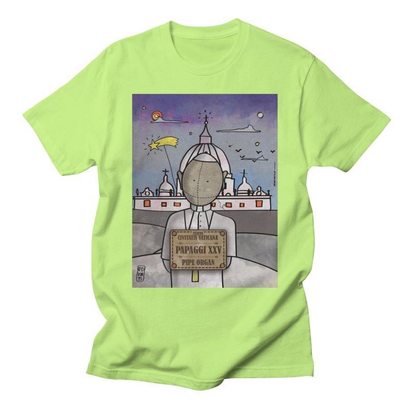 PAPAGGI XXV_Pipe Organ Men's T-Shirt by ZEROSTILE'S ARTIST SHOP