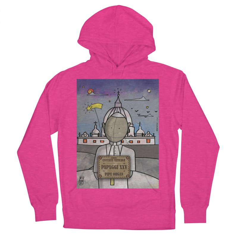 PAPAGGI XXV_Pipe Organ Men's French Terry Pullover Hoody by ZEROSTILE'S ARTIST SHOP