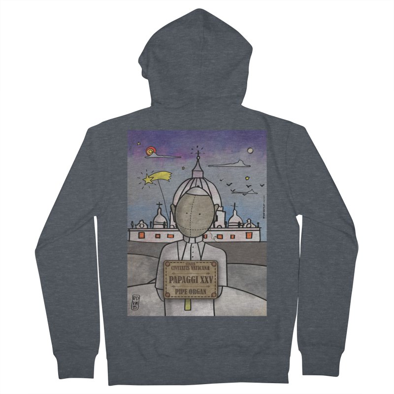 PAPAGGI XXV_Pipe Organ Women's Zip-Up Hoody by ZEROSTILE'S ARTIST SHOP