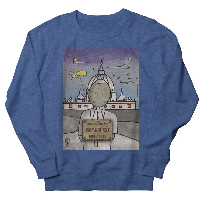 PAPAGGI XXV_Pipe Organ Women's French Terry Sweatshirt by ZEROSTILE'S ARTIST SHOP
