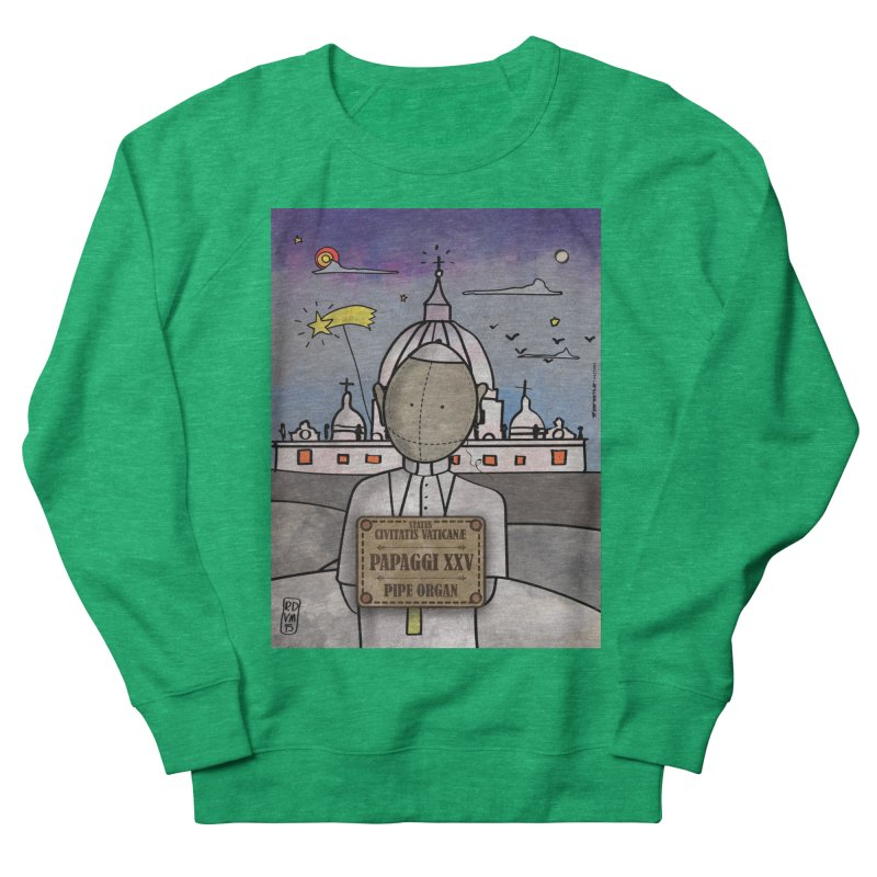 PAPAGGI XXV_Pipe Organ Men's French Terry Sweatshirt by ZEROSTILE'S ARTIST SHOP