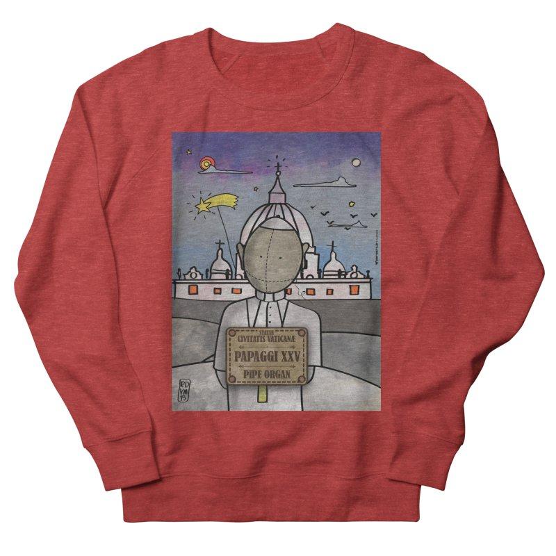 PAPAGGI XXV_Pipe Organ Men's French Terry Sweatshirt by ZEROSTILE'S ARTIST SHOP