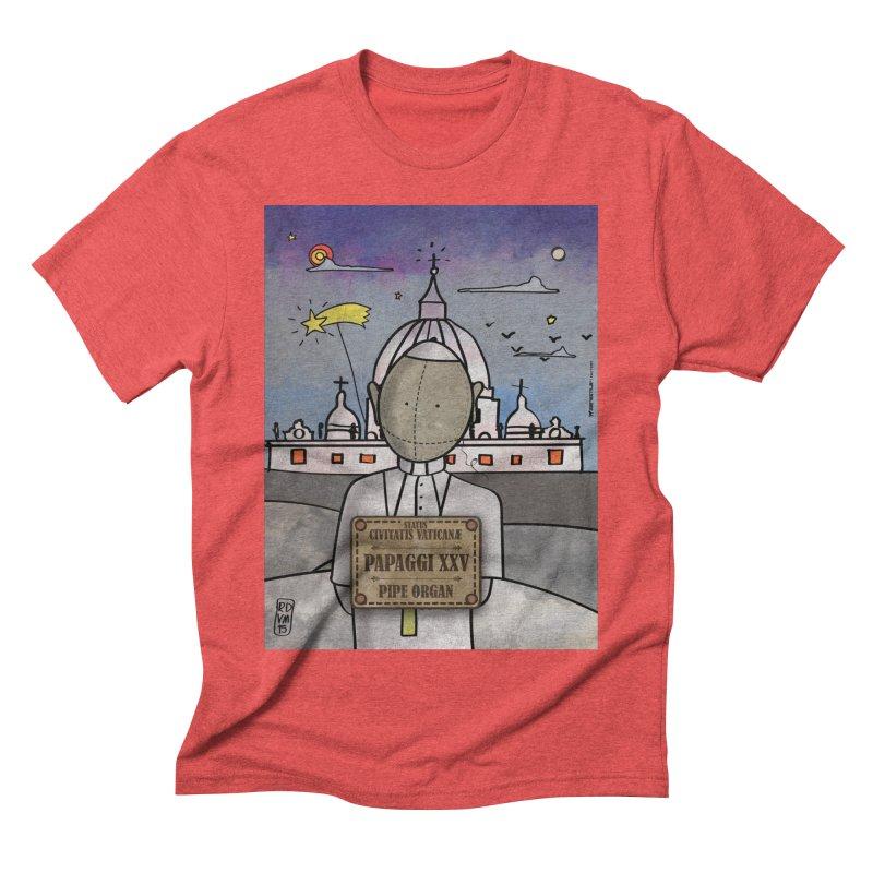 PAPAGGI XXV_Pipe Organ Men's Triblend T-Shirt by ZEROSTILE'S ARTIST SHOP