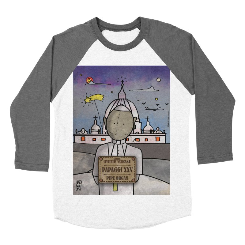 PAPAGGI XXV_Pipe Organ Women's Baseball Triblend Longsleeve T-Shirt by ZEROSTILE'S ARTIST SHOP