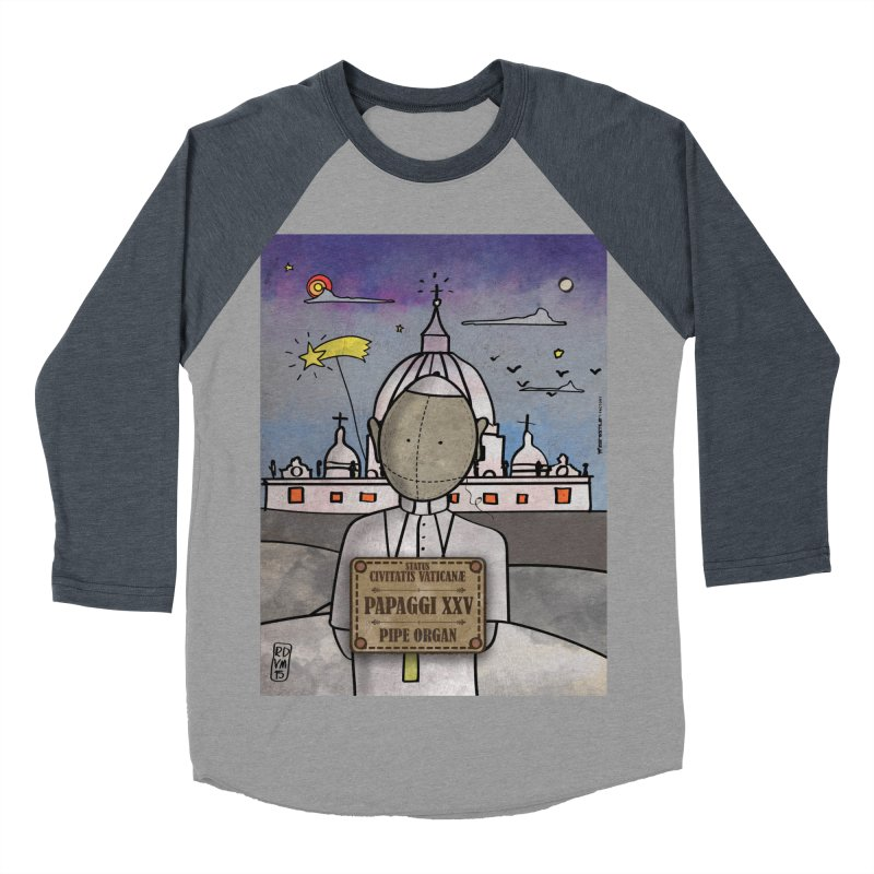 PAPAGGI XXV_Pipe Organ Women's Baseball Triblend Longsleeve T-Shirt by ZEROSTILE'S ARTIST SHOP
