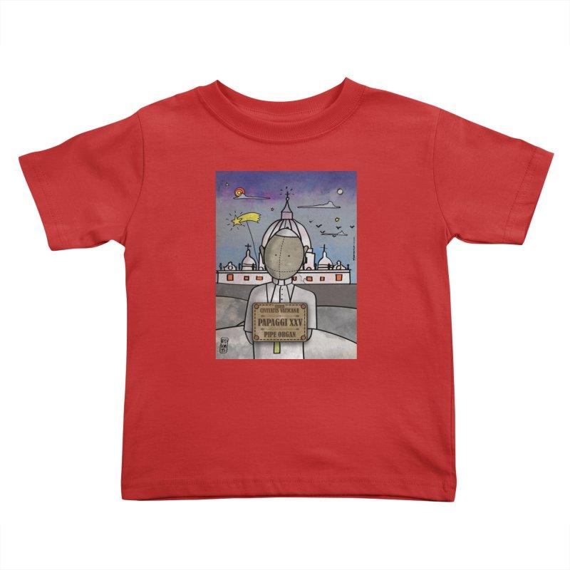 PAPAGGI XXV_Pipe Organ Kids Toddler T-Shirt by ZEROSTILE'S ARTIST SHOP
