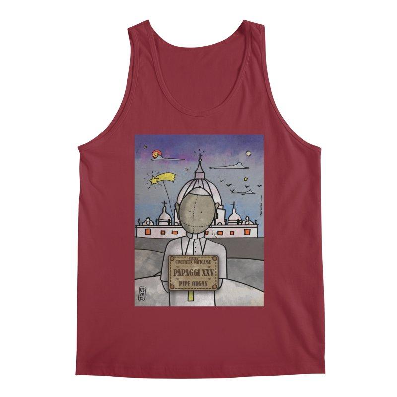PAPAGGI XXV_Pipe Organ Men's Tank by ZEROSTILE'S ARTIST SHOP