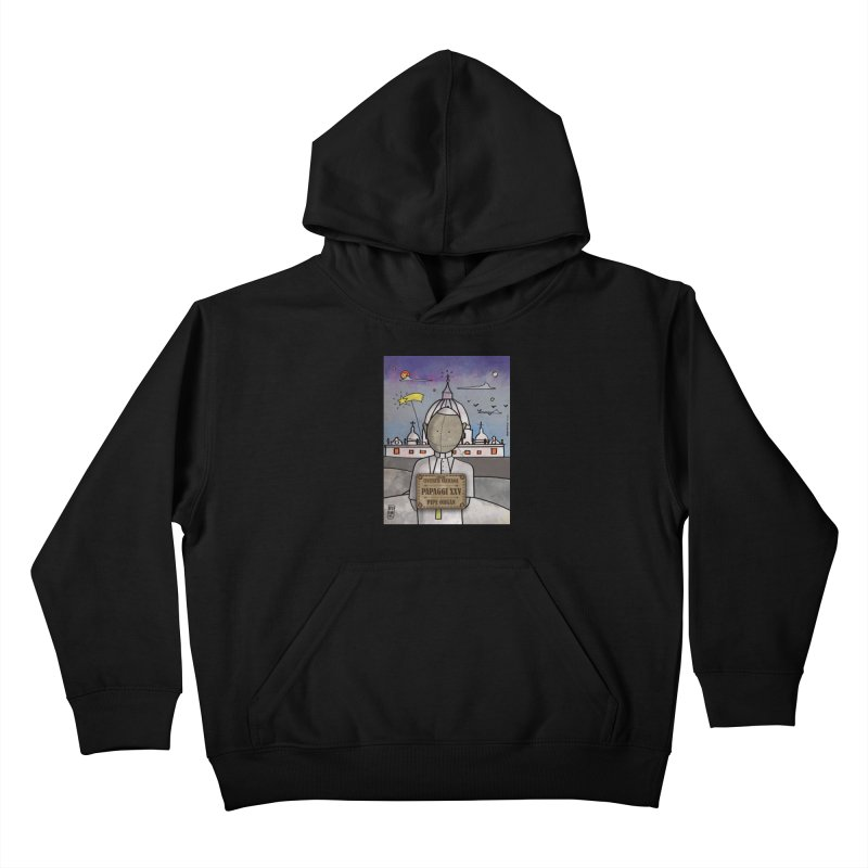 PAPAGGI XXV_Pipe Organ Kids Pullover Hoody by ZEROSTILE'S ARTIST SHOP