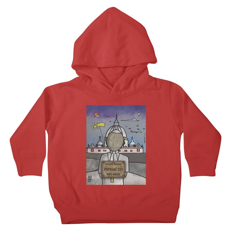 PAPAGGI XXV_Pipe Organ Kids Toddler Pullover Hoody by ZEROSTILE'S ARTIST SHOP