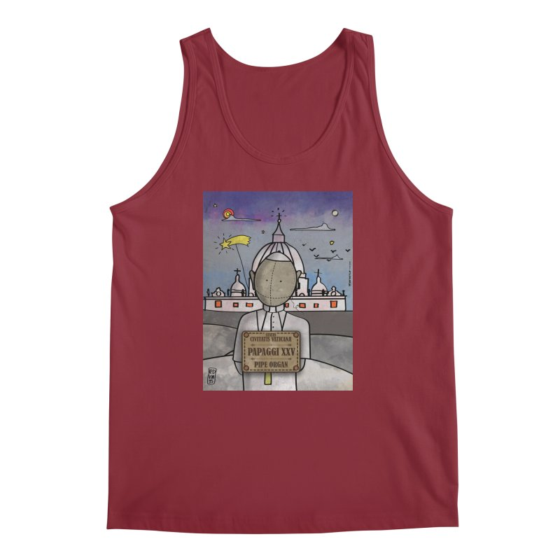 PAPAGGI XXV_Pipe Organ Men's Regular Tank by ZEROSTILE'S ARTIST SHOP