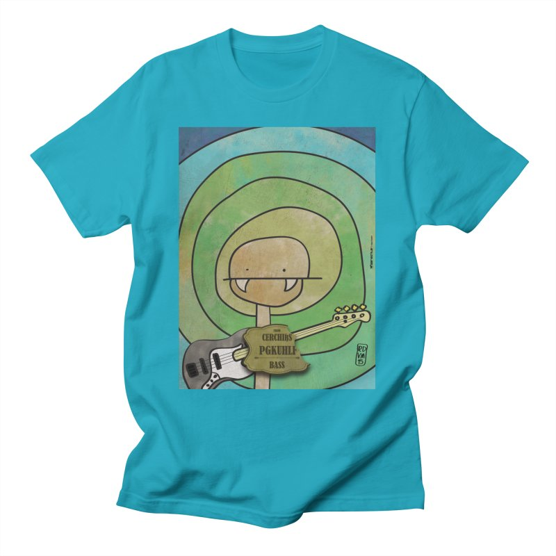PGKUHLF_Bass Men's T-Shirt by ZEROSTILE'S ARTIST SHOP