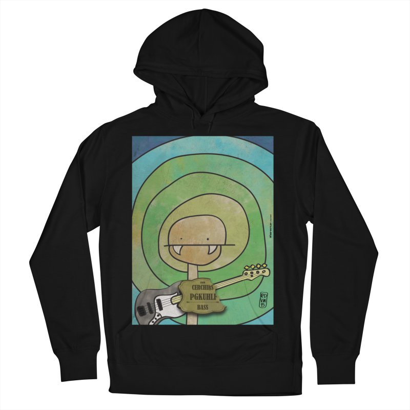 PGKUHLF_Bass Men's French Terry Pullover Hoody by ZEROSTILE'S ARTIST SHOP