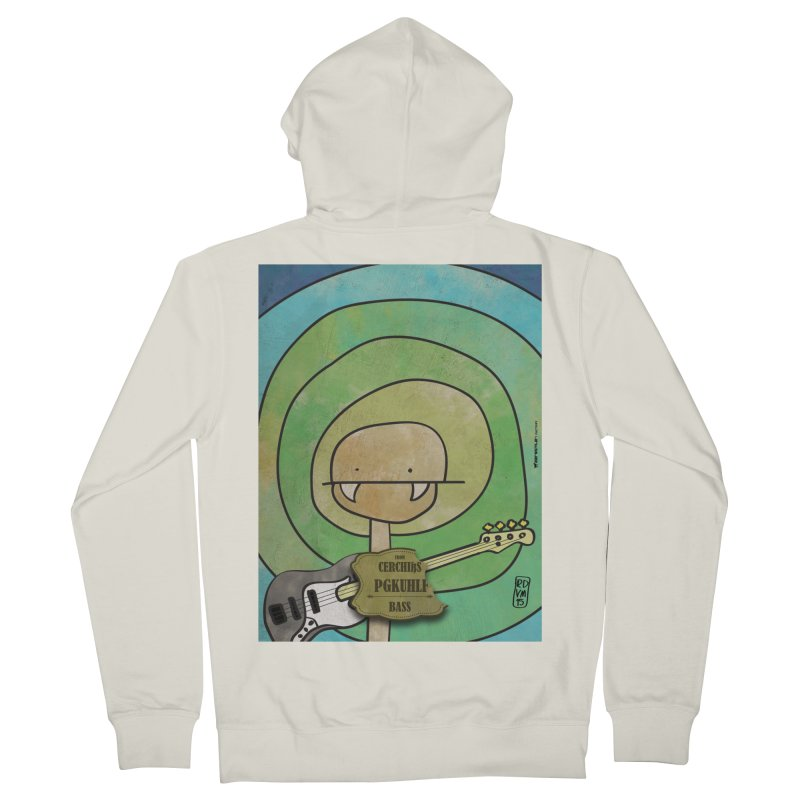 PGKUHLF_Bass Women's Zip-Up Hoody by ZEROSTILE'S ARTIST SHOP