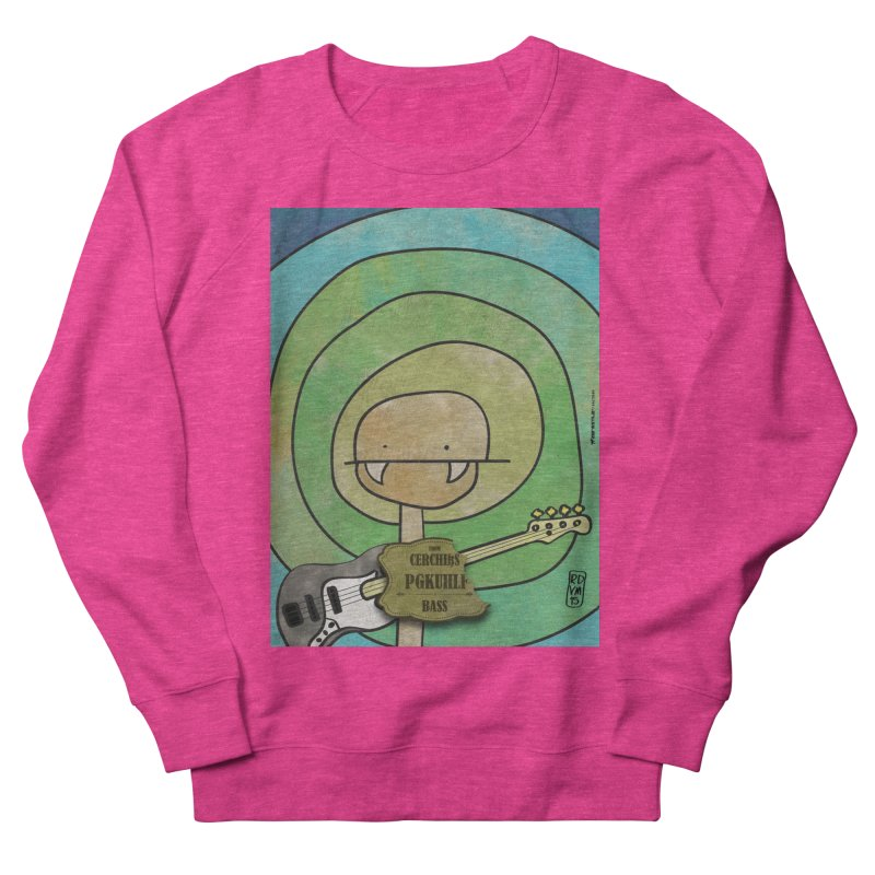PGKUHLF_Bass Women's French Terry Sweatshirt by ZEROSTILE'S ARTIST SHOP