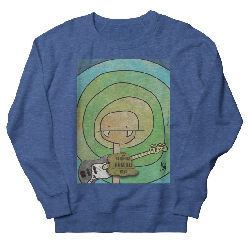 PGKUHLF_Bass Men's French Terry Sweatshirt by ZEROSTILE'S ARTIST SHOP